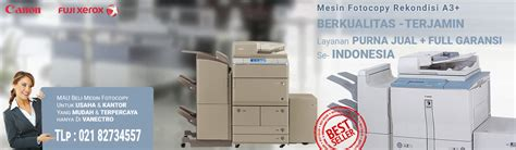 Mesin Fotocopy Warna Rekondisi jual mesin fotocopy bekas murah garansi 1 tahun april