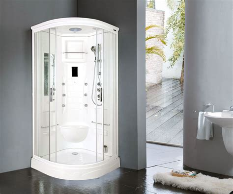 shower cabin lisna waters florenta quadrant steam shower enclosure