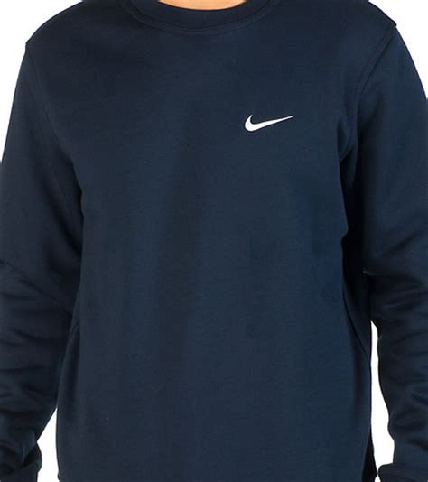 Sweater Hoodie Honda Navy nike sportswear nike club swoosh crew sweatshirt navy jimmy jazz 611467473 on the hunt