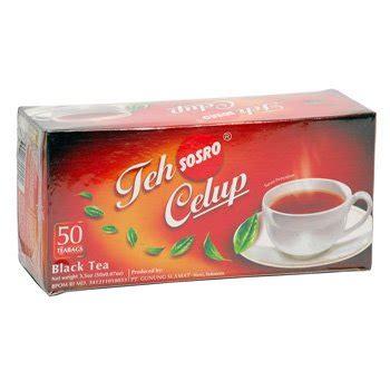 Teh Botol Sosro Celup sosro teh celup asli 100 gram teh hitam original black tea