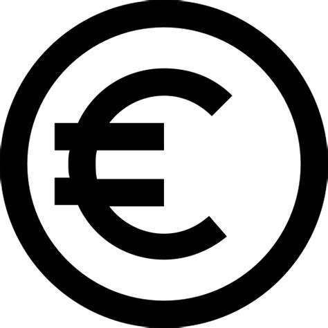 coin currency finance eur euro icon