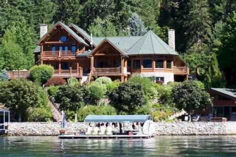 hayden lake waterfront home  sale hayden lake