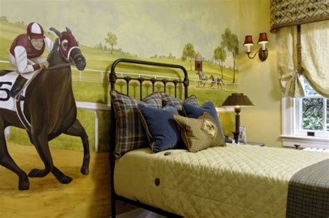 horse themed home decor modern horse bedroom theme design and decor ideas