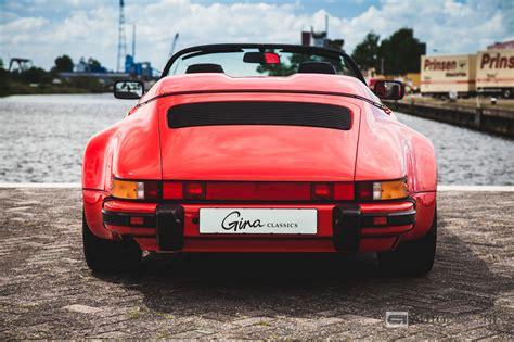 54 porsche speedster porsche 911 speedster 1989 classic rijtest en