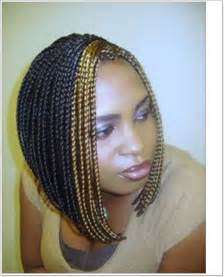 Most impressive braided bob hairstyles for black women 2016