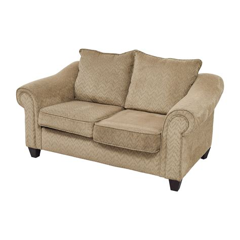 used loveseats 84 off bob s furniture bob s furniture two toned brown