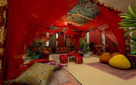 tenda araba elemento 3d cenografia tenda arabe