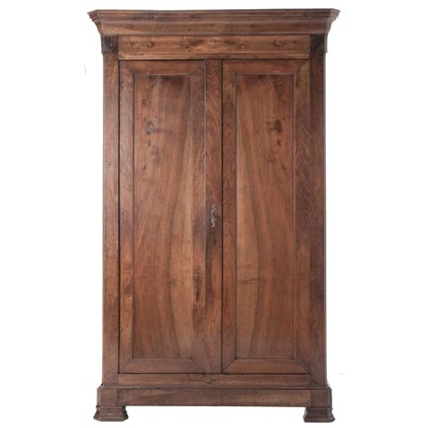 french louis philippe walnut armoire at 1stdibs