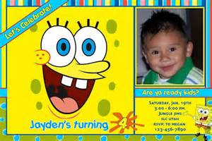 search results spongebob invitations personalized the best hair style