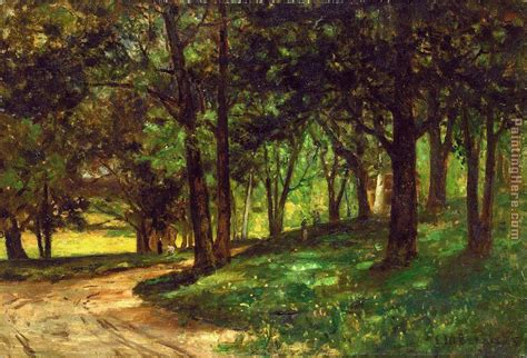 Landscape Pictures Of Trees Edward Mitchell Bannister Landscape With Trees Painting