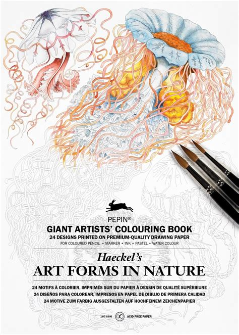 Ernst Haeckel Forms In Nature Coloring Book