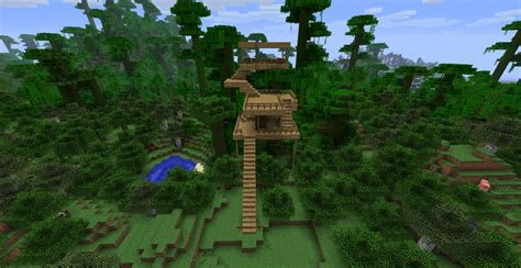 Cool Treehouses Minecraft Jungle Treehouse V0 2 Minecraft Project