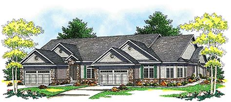 Multi Unit Home Plans by Multi Unit House Plans The Plan Collection