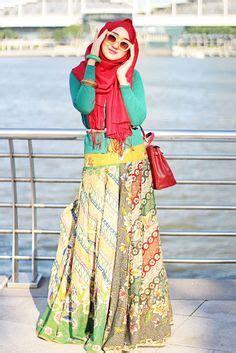 Gamis Pesta Muslimah Ala2 Teh Dian Pelangi 8 1000 images about batik design on kebaya muslim and islamic fashion