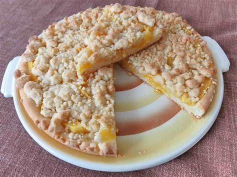 mango kuchen mango vanillestreusel kuchen rezept mit bild juulee