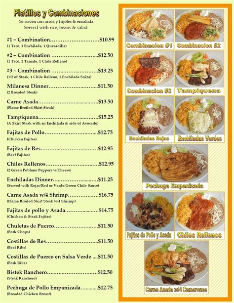 sle restaurant layout and design sle of mexican restaurant menus el sabrocito best