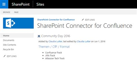 Office 365 Jira Connector Sharepoint Connector For Confluence Atlassian Marketplace