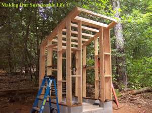out building designs roof braces for the outhouse making our sustainable life tuesday greens pinterest