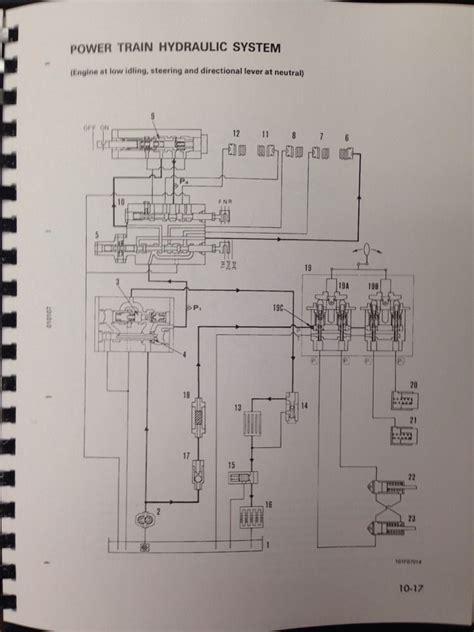 komatsu d20 wiring diagram wiring diagram with description