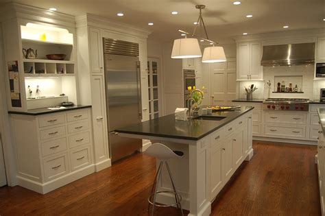 interior home design shaker kitchen cabinets