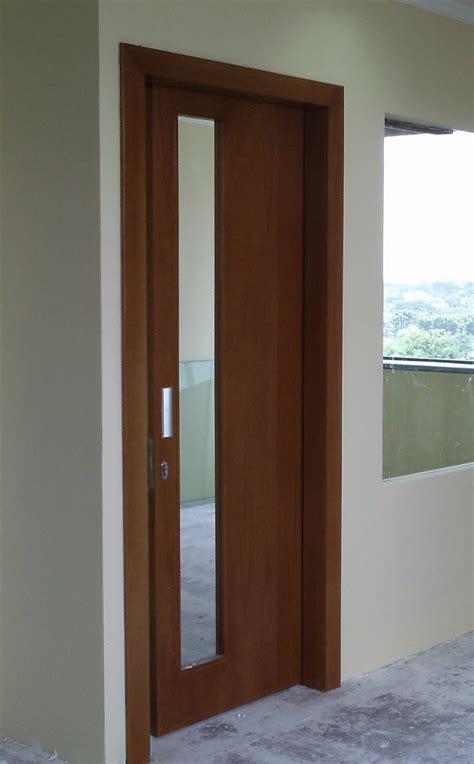 Gambar Kusen Pintu Kayu Minimalis Kusenpintu Gambar Kusen