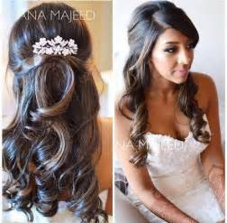 hair styles for wedding day   long hairstyles