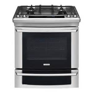 home depot gas ranges electrolux iq touch 4 2 cu ft slide in gas range