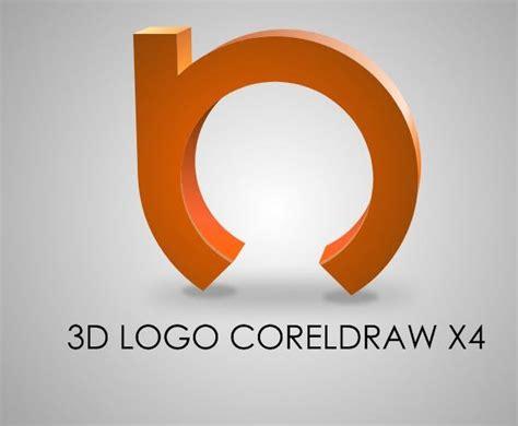 tutorial corel draw x4 3d text corel draw x 4 tutorials 3d logo coreldraw x4 tutorial