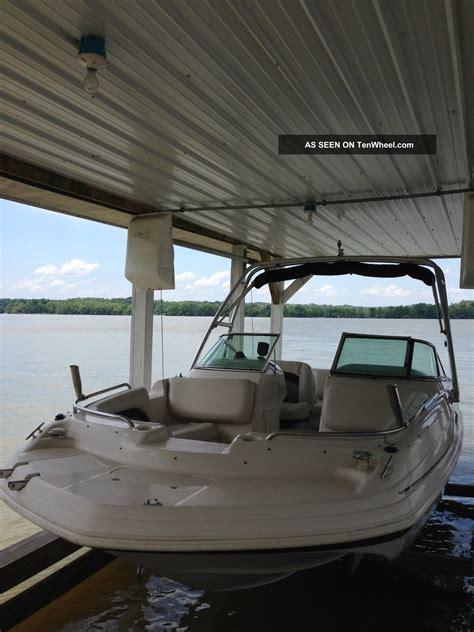 hurricane deck boat wakeboarding 2003 hurricane sundeck 217