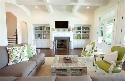gray and green living room 30 green and grey living room d 233 cor ideas digsdigs
