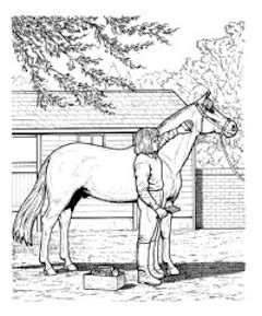 horse trainer coloring page horse riding free coloring pages on art coloring pages