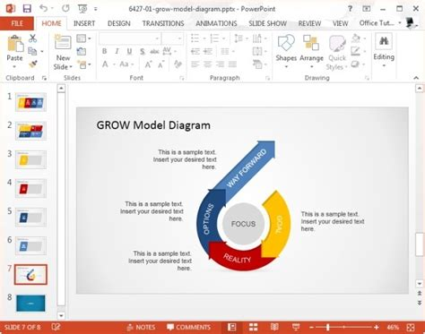 what is grow model and how to use it in presentations