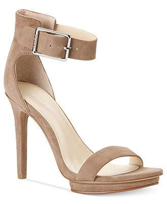 calvin klein s shoes high heel sandals