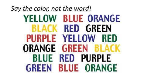 how to say color in we are all different ppt