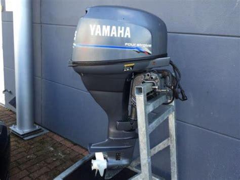 25 pk buitenboordmotor kortstaart yamaha 25 pk 4 takt langstaart elektrische start