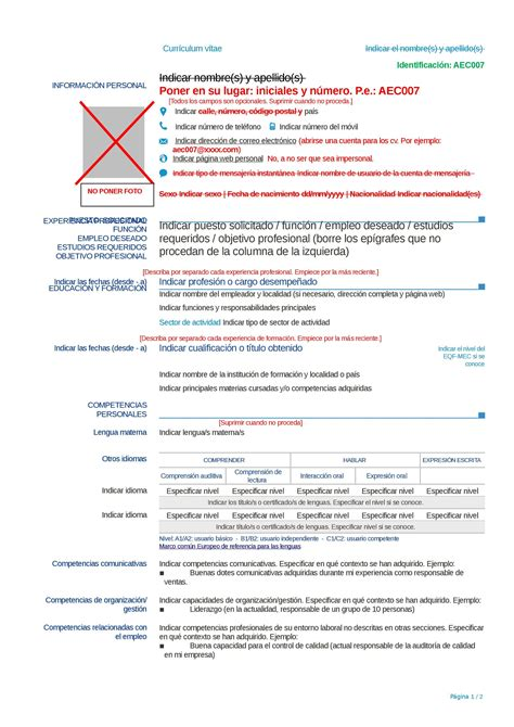 Modelo Curriculum Vitae Con Discapacidad Curr 237 Culum Ciego 191 Qu 233 Es Formato Y Ejemplo Como Modelo A Seguir