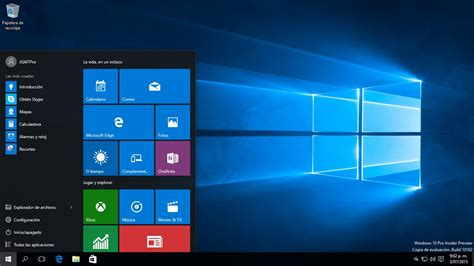 imagenes de inicio windows 10 configuraci 243 n del men 250 inicio en windows 10 youtube