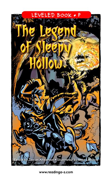 the legend of sleepy the legend of sleepy hollow torran anderson