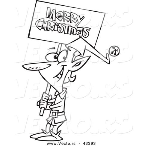 christmas coloring pages merry christmas sign elf out line new calendar template site