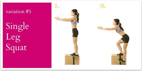 single leg squat to bench 48 best images about squat workouts on pinterest body