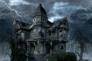 haunted house by hellonlegs on deviantart