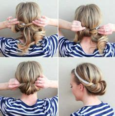 hair styles for after five quick and easy updo hairstyles for medium length hair i