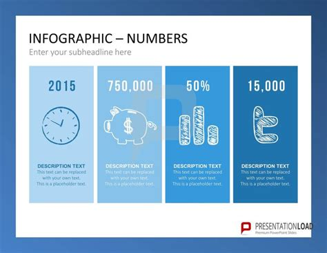 powerpoint design zahlen the infographic set for powerpoint is ideal to plug in