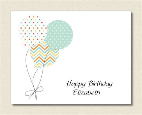 Birthday Cards For Adults Personalized Happy Birthday Card Kids Adults
