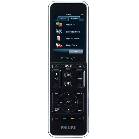 Lu Philips Pakai Remote philips prestigo srt9320 t 233 l 233 commande philips sur ldlc