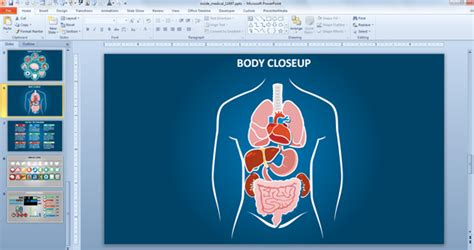 Top Effective Medical Powerpoint Templates For Healthcare Industry Human Powerpoint Template