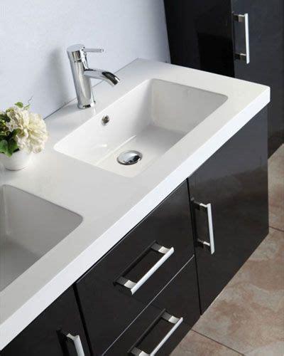 lavabo nero bagno mobile bagno taiti 120 cm bianco o nero doppio lavabo in