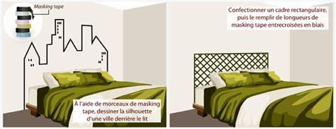 Tete De Lit Masking by Fabriquer Une T 234 Te De Lit D 233 Coration