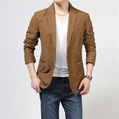 suits high quality mens casual suits blazers slim fit