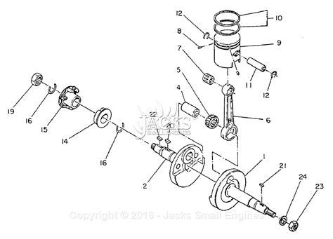 robinsubaru ecd bomag parts diagram  crankshaftpiston